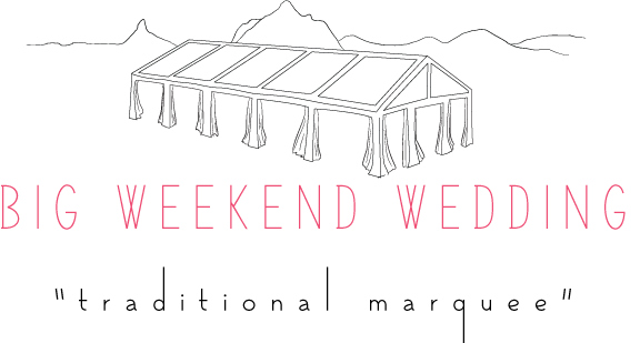 Maleny Retreat Weddings Big Weekend Wedding Traditional Marquee Packages